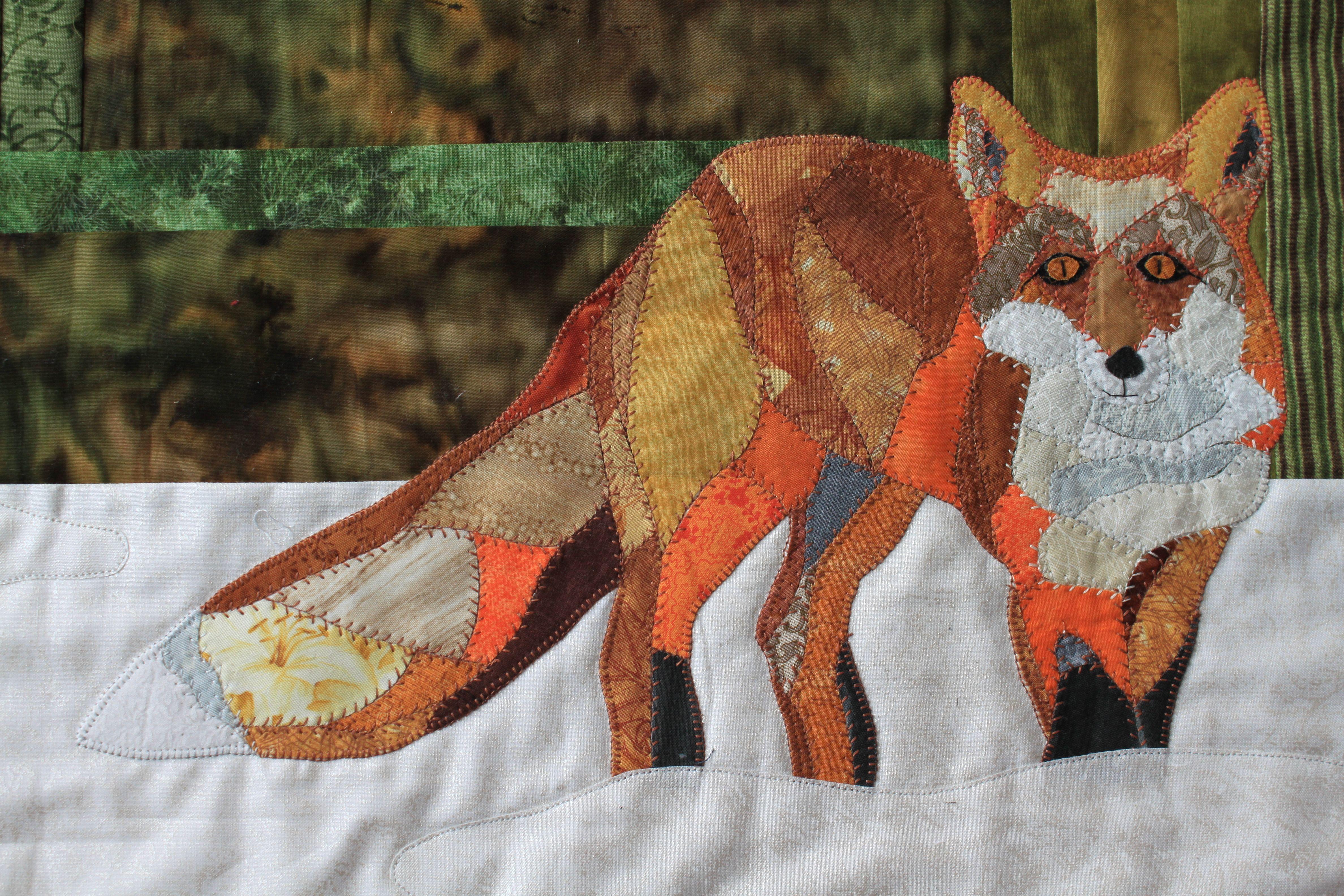 fox applique - Google Search