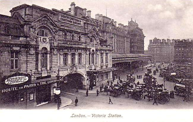 Ye Olde London E Victoria Station London Victoria Station Old London