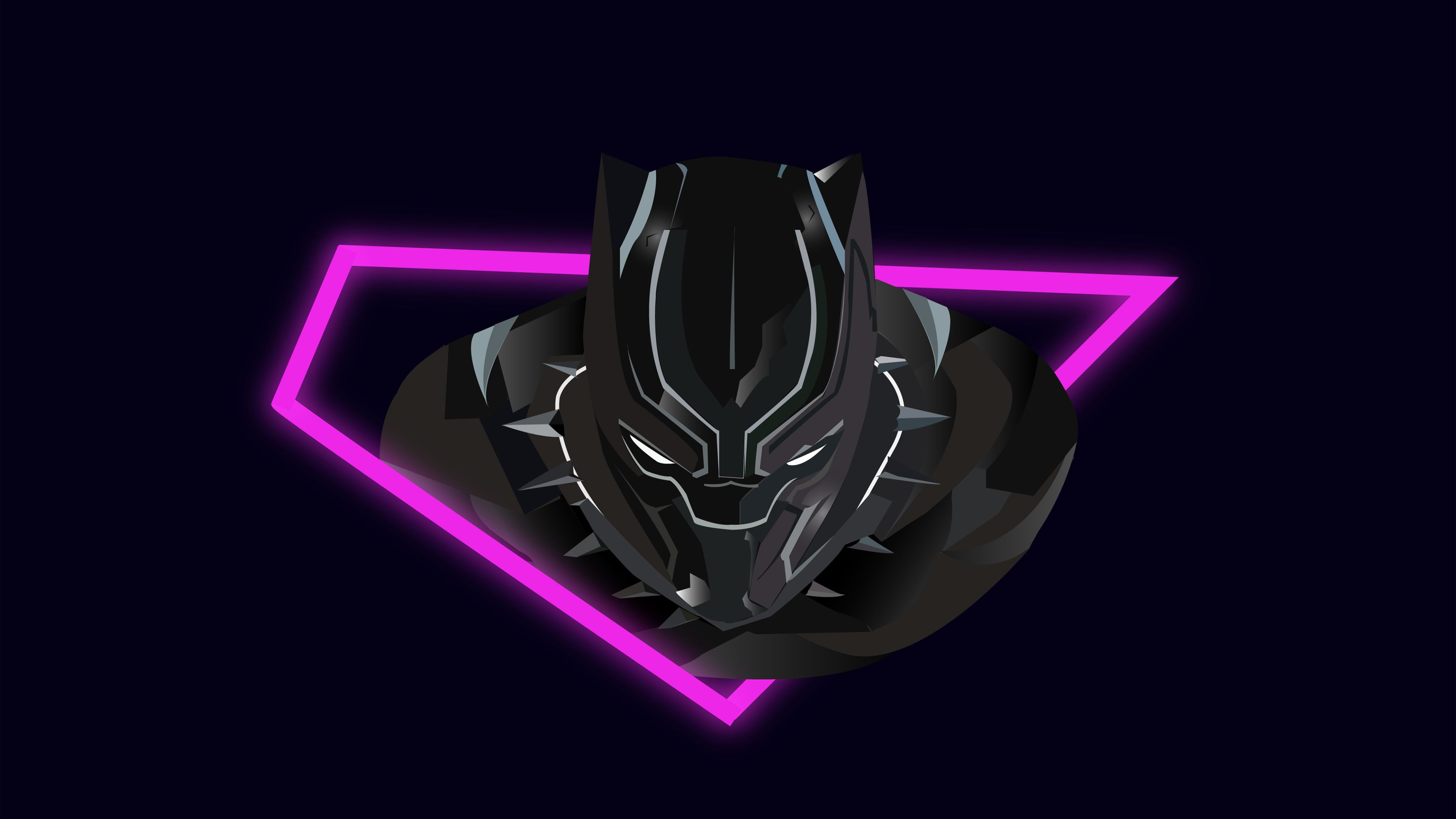 Black Panther Vector Art 4k Superheroes Wallpapers Hd Wallpapers Black Panther Wallpapers Behance Wallpapers A Black Panther Vector Art Superhero Wallpaper