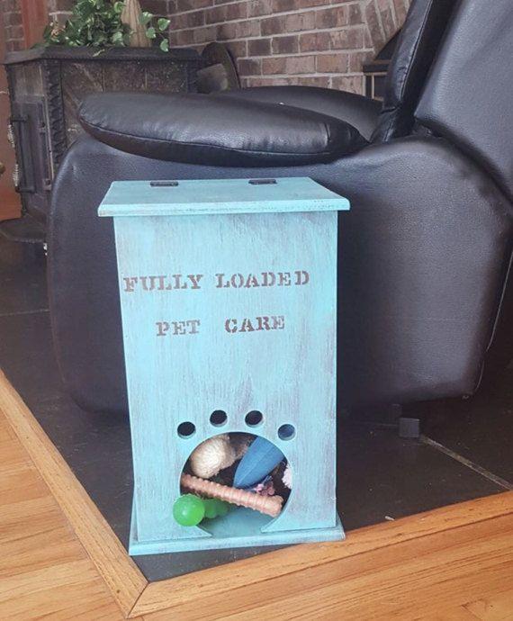 Dog Toy Box Dog Toy Bin Dog Toy Storage Pet Toy by SDWoodDesigns & Dog Toy Box Dog Toy Bin Dog Toy Storage Pet Toy by SDWoodDesigns ...