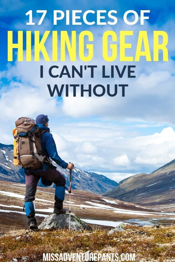 Photo of Recommendations: All The Hiking Stuff I Can't Live Without