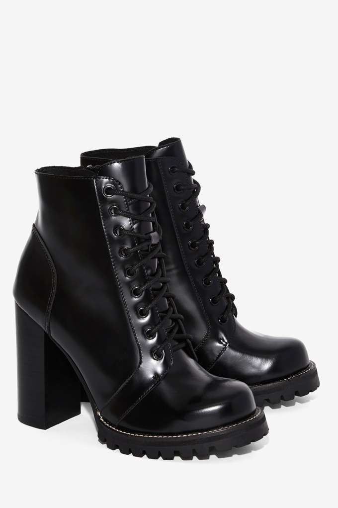 Jeffrey Campbell Legion Box Leather Boot - Shoes | Boots + Booties | Romantic Revolution