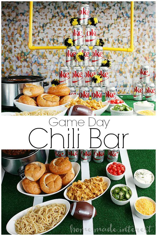 Game Day Chili Bar | Home. Made. Interest.
