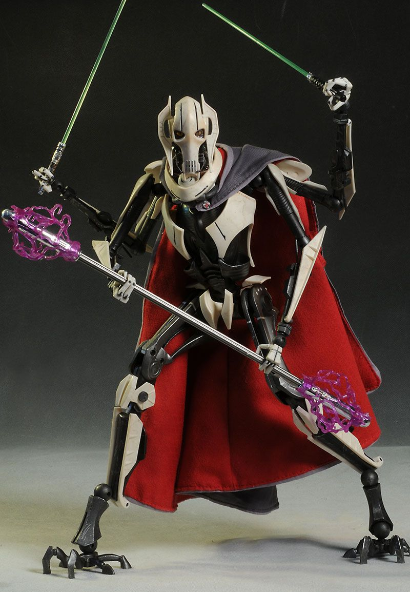 Star Wars General Grievous Sixth Scale Action Figure Star Wars Action Figures Star Wars Villains Star Wars Bb8