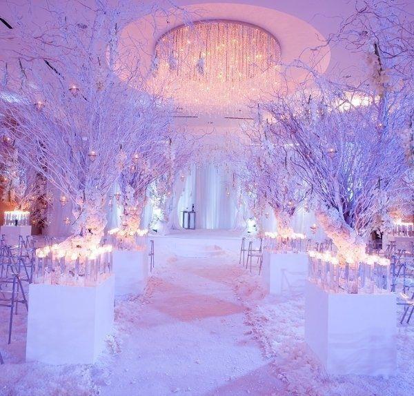 Platinum Touch Events Winter Wonderland Wedding Inspiration Winter Wonderland Wedding Wonderland Wedding Wedding Ceremony Decorations