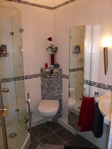 kleine Bäder, Vorwandinstallation, WC, Foto Bäder Seelig Wohnung