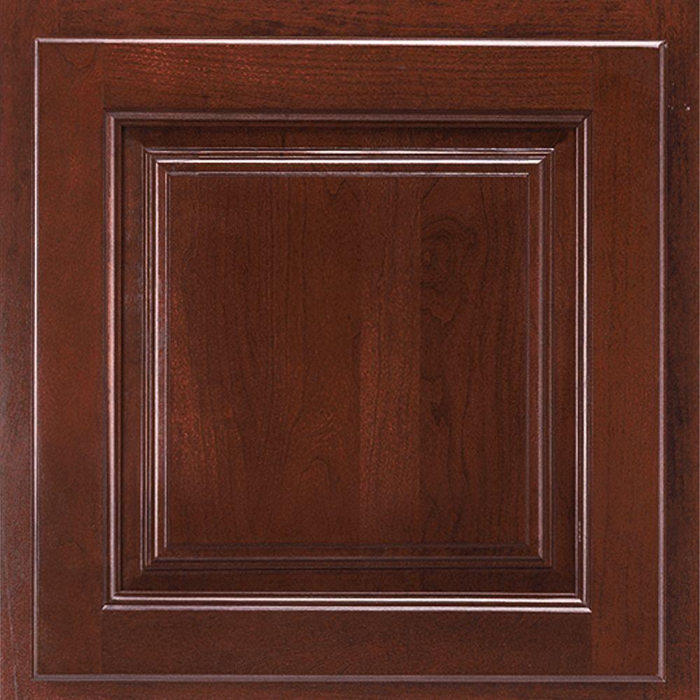 American Woodmark 13x12-7/8 in. Cabinet Door Sample in ...
