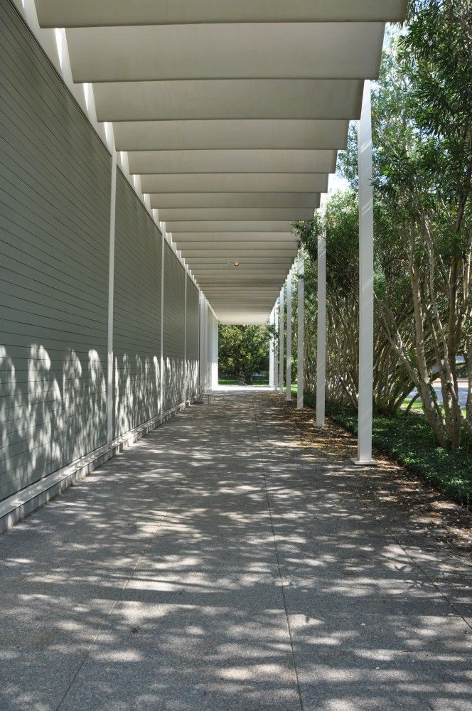 Ad Classics Menil Collection Renzo Piano Architecture