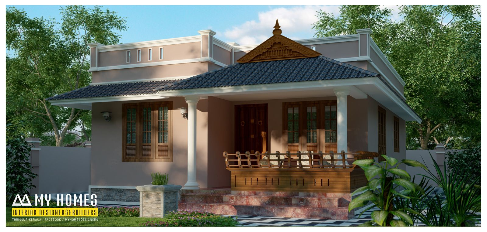Budget Houses In Kerala Small House Plans Small House