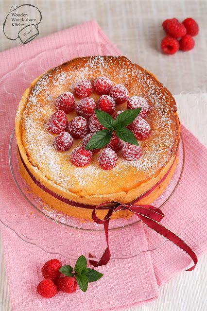 Kleine Kuchen klassischer Käsekuchen 20er form Kleiner