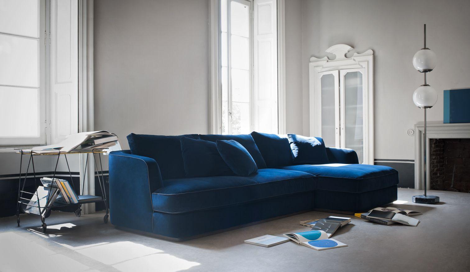 Barret sectional sofa design by Roberto Lazzeroni for Flexform Mood. made in Italy. : flexform sectional sofa - Sectionals, Sofas & Couches