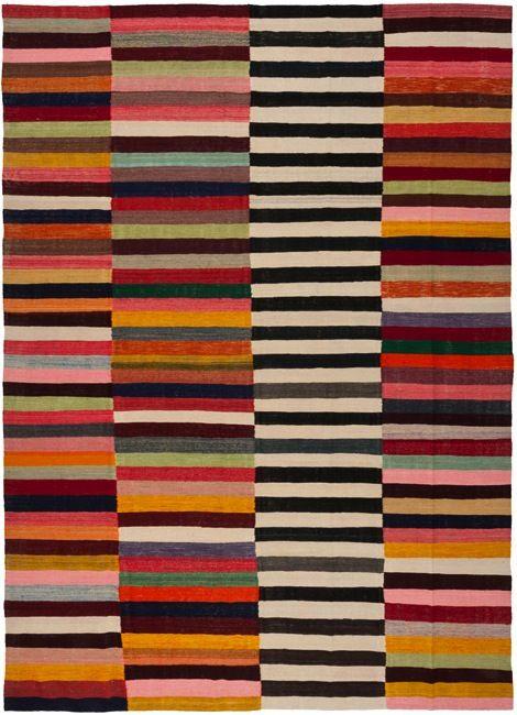 Old Yarn Rug By Loom Rugs