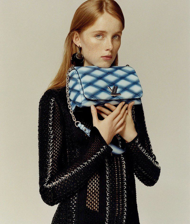 faessbender:   FOCAL POINTS: louis vuitton embroidered crochet dress, silk crepe underpinnings, malletage leather bag and metal jewelry.  nicolas ghesquière innovates at the legendary house of louis vuitton.rianne van rompaey photographed by jamie hawkesworth for wsj magazine.