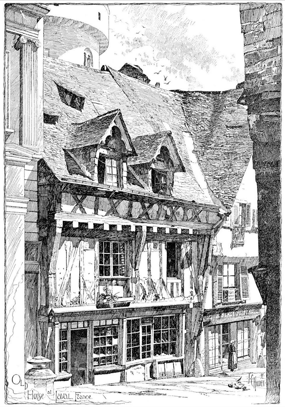Franklin booth american ue laval house france franklin