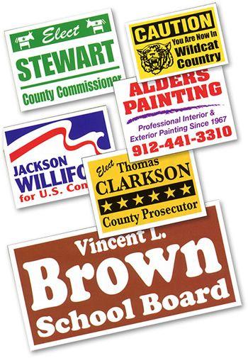 Corrugated Plastic Signs Corrugated Plastic Signs Vinyl Banners Custom Banners