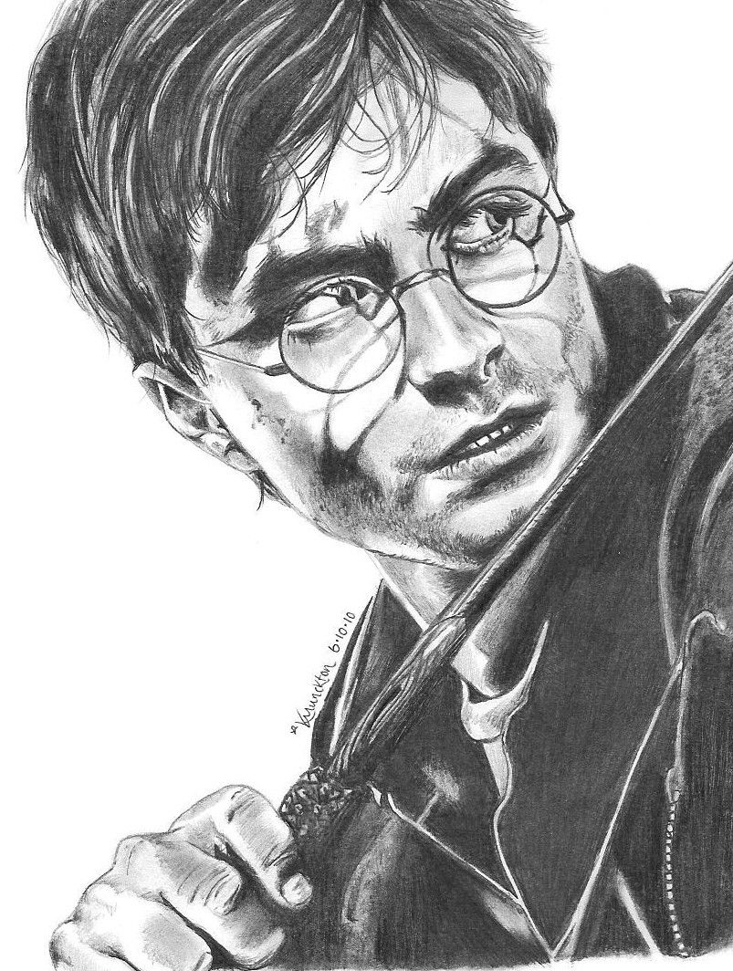 Daniel radcliffe harry potter by qraizi on deviantart harry potter - Harry potter dessin ...