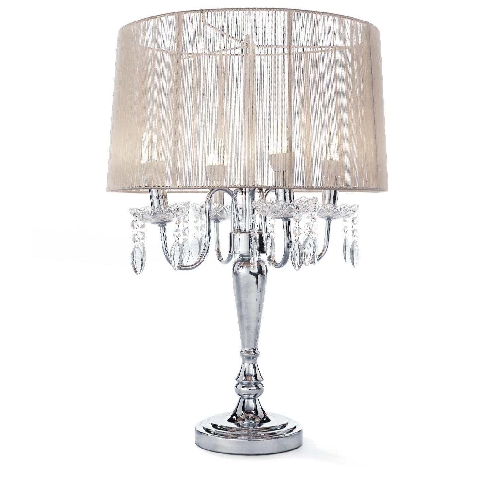 804955 JM By Julien Macdonald Signature Chandelier Table Lamp QVC  Price:£117.00 + Pu0026P