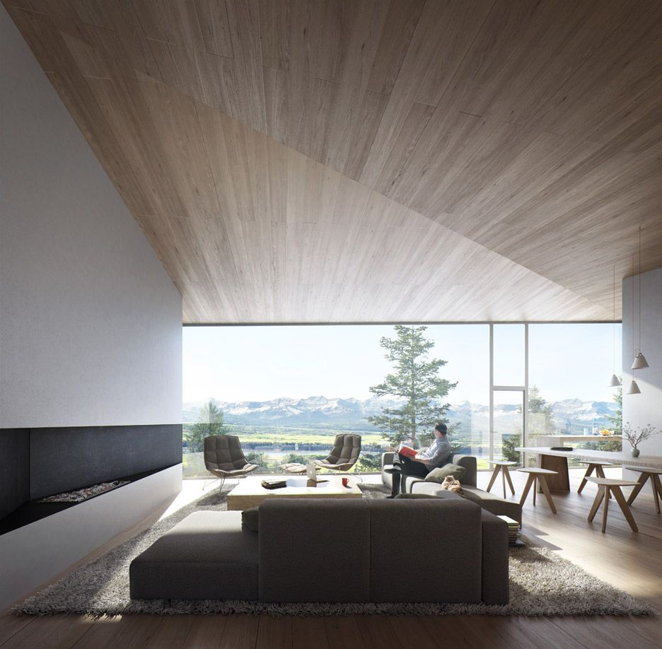 Carraig Ridge Houses by Saunders Architecture