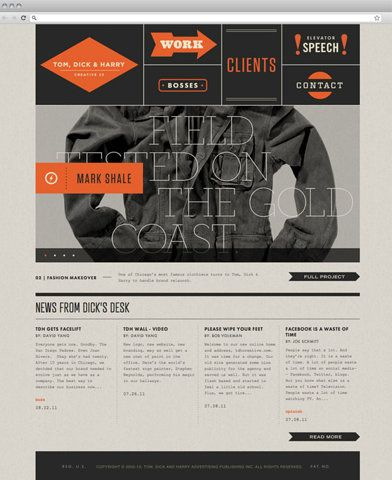Clean, modern, edgy web design | Web Design | Pinterest
