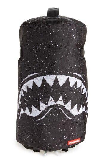 040907acd564 SPRAYGROUND PARTY SHARK DUFFPACK - BLACK. #sprayground #bags #backpacks #
