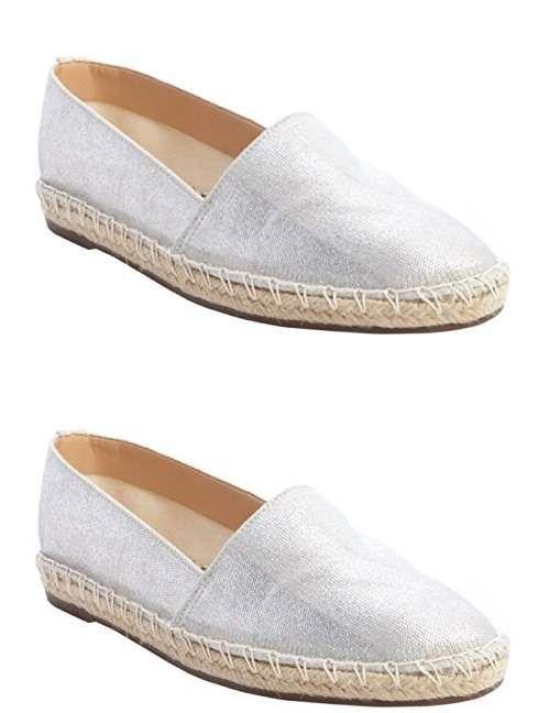 Schutz Freddie Espadrille Flats Shoes 8