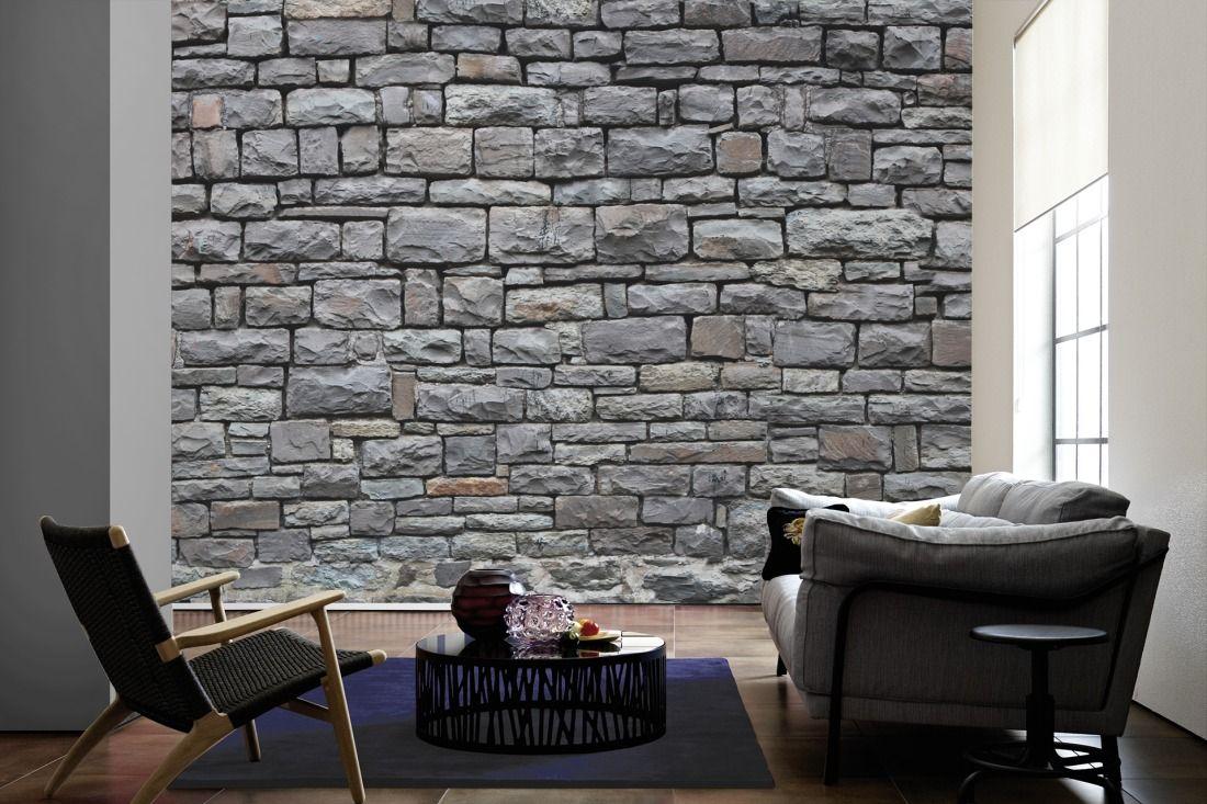 AuBergewohnlich Tapeten Im Wohnzimmer; Architects Paper Fototapete «Naturstein 4» 470120