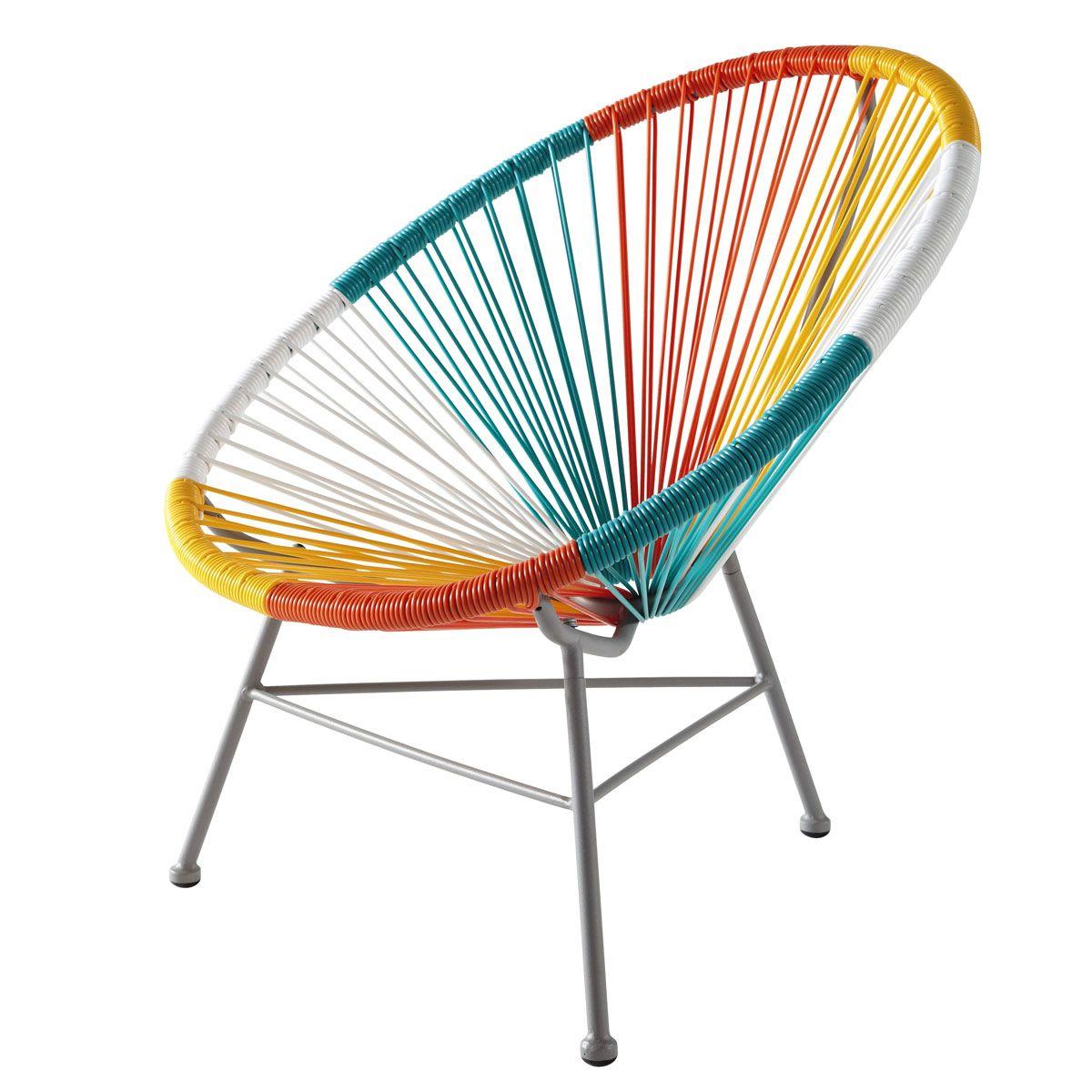 fauteuil enfant multicolore copacabana maisons du monde. Black Bedroom Furniture Sets. Home Design Ideas