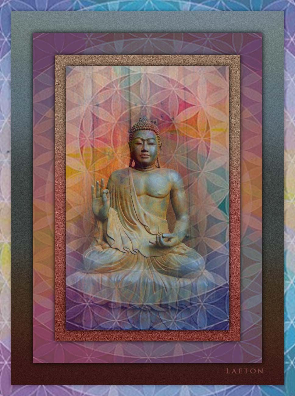 Richard Laeton ~ http://fineartamerica.com/featured/1-buddha-richard-laeton.html