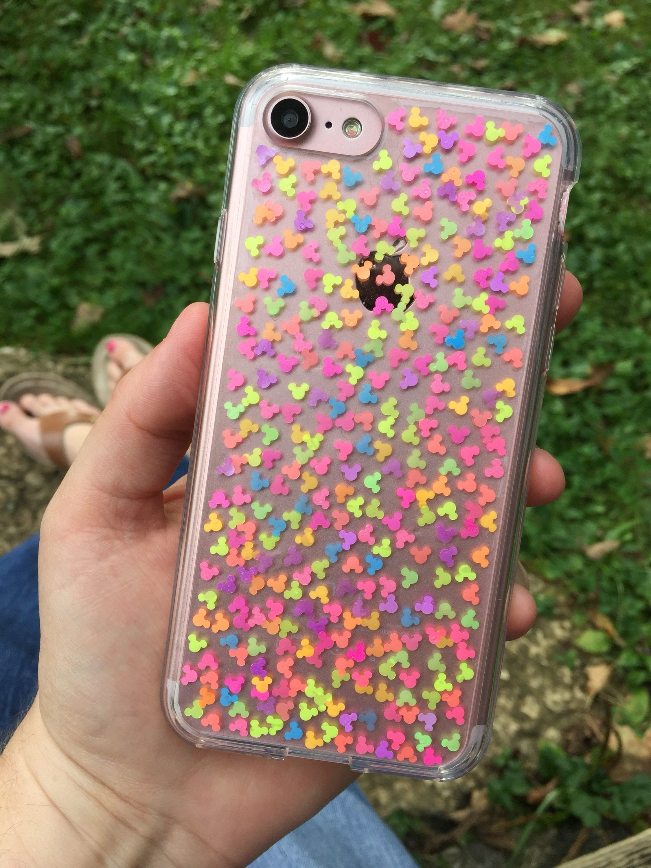 half off fa406 8a1e4 Disney Mickey Mouse Glitter Phone Case, Google Pixel XL Phone Case ...