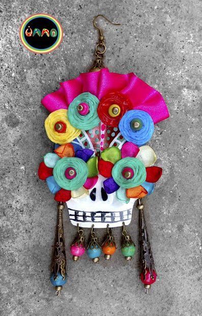 Mis aros calaveras mexicanas