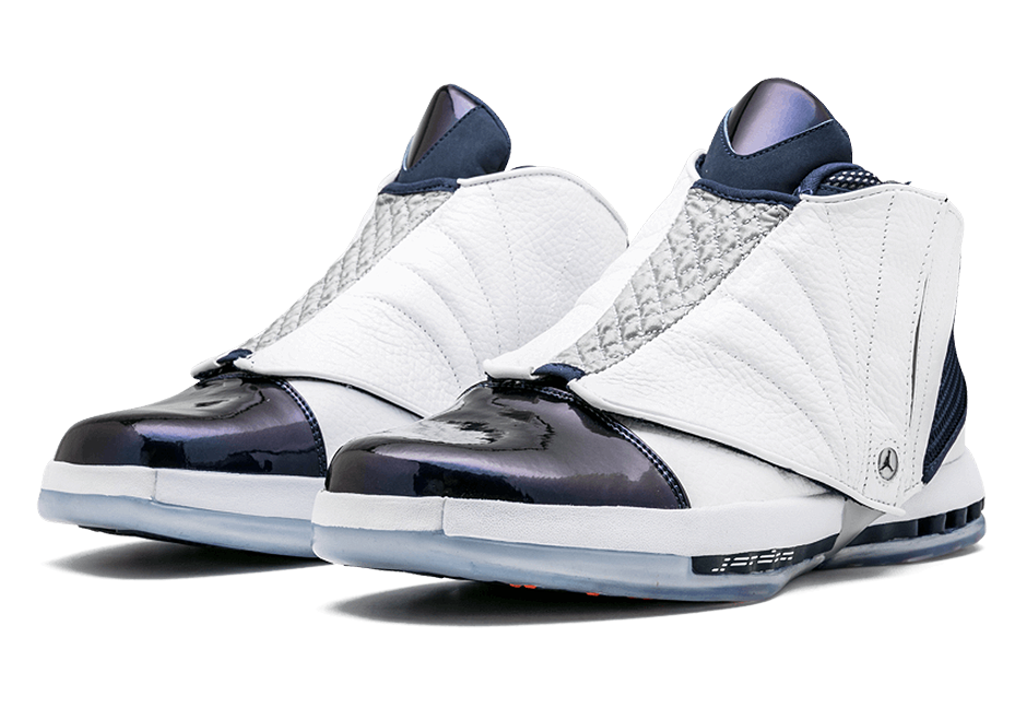 ac9aa83a6ef5 Official Images Of The Air Jordan 16 Midnight Navy
