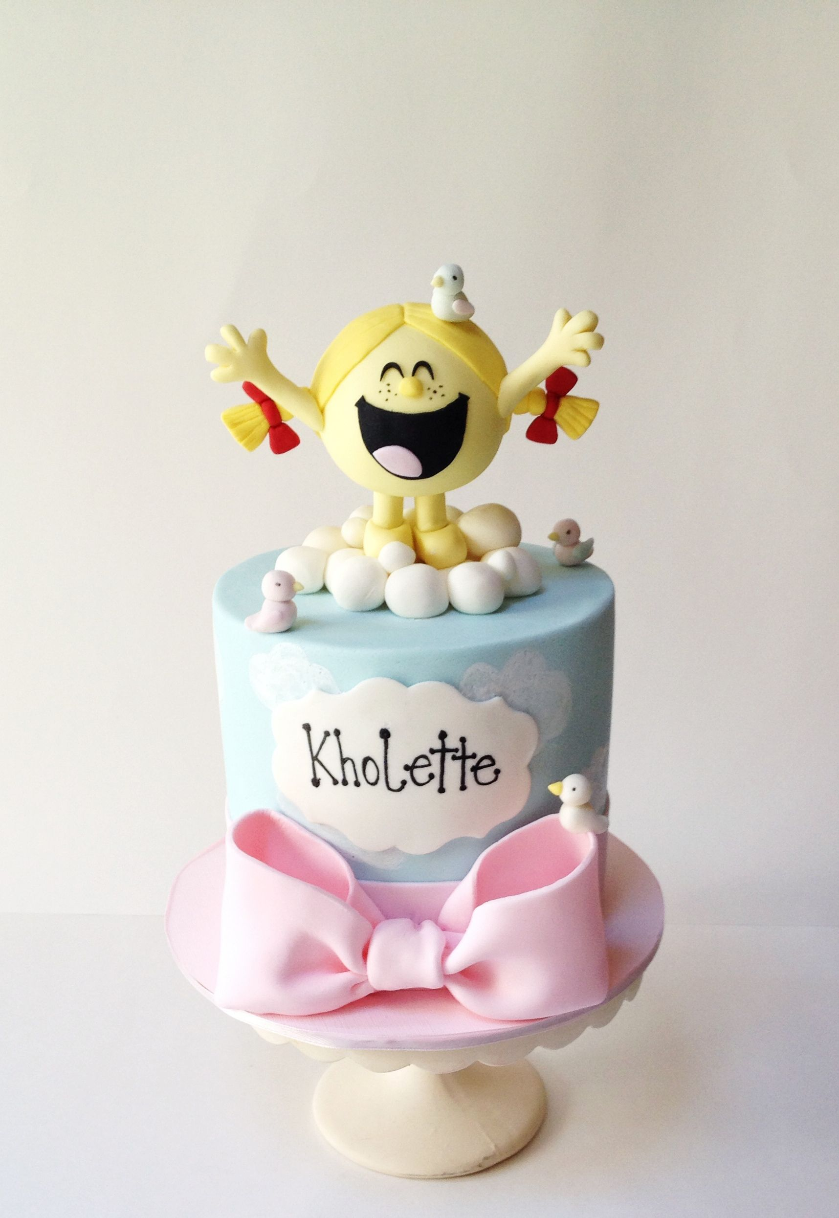 Little Miss Sunshine Cake Follow Me On Instagram And Face Book D - Little miss birthday cake