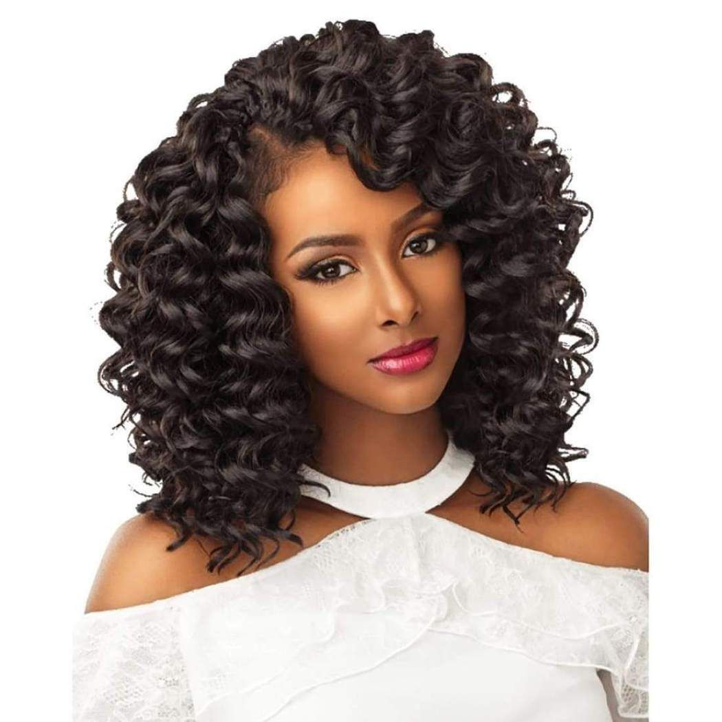 Sensationnel Lulutress Crochet Braid 2x Deep Wave 8 Crochet Hair Styles Freetress Curly Crochet Hair Styles Braided Hairstyles Easy