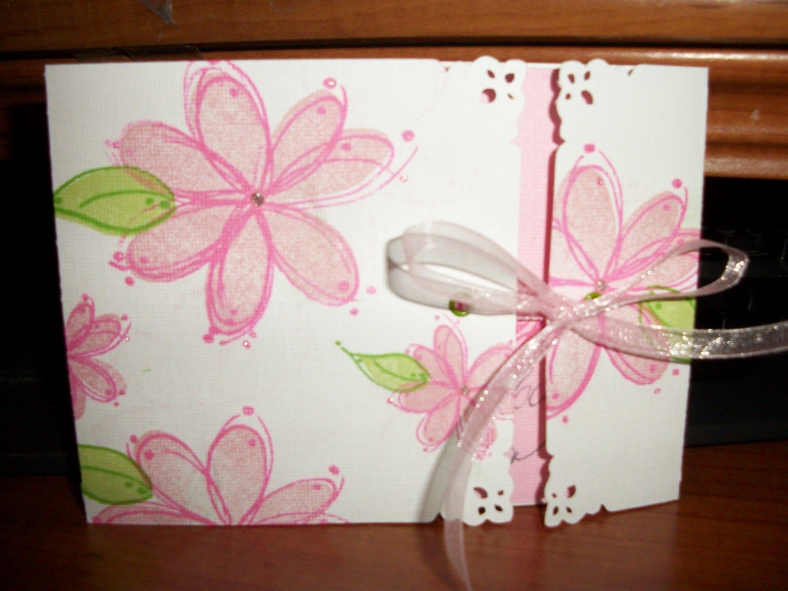 Creative But Messy Cricut Birthday Card Cards Flowers And
