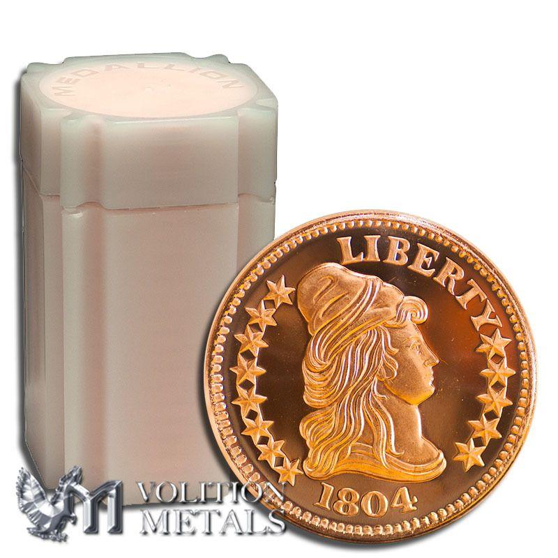 Volition Metals, LLC - 20 Coins-  Capped Bust 1 oz .999 Copper Bullion Rounds,  24.99 (http://www.volitionmetals.com/20-coins-capped-bust-1-oz-999-copper-bullion-rounds/)