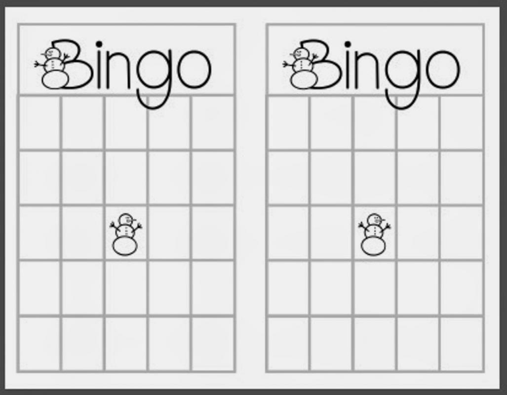 photograph relating to Christmas Bingo Card Printable named Blank Xmas Bingo Playing cards Xmas Playing cards