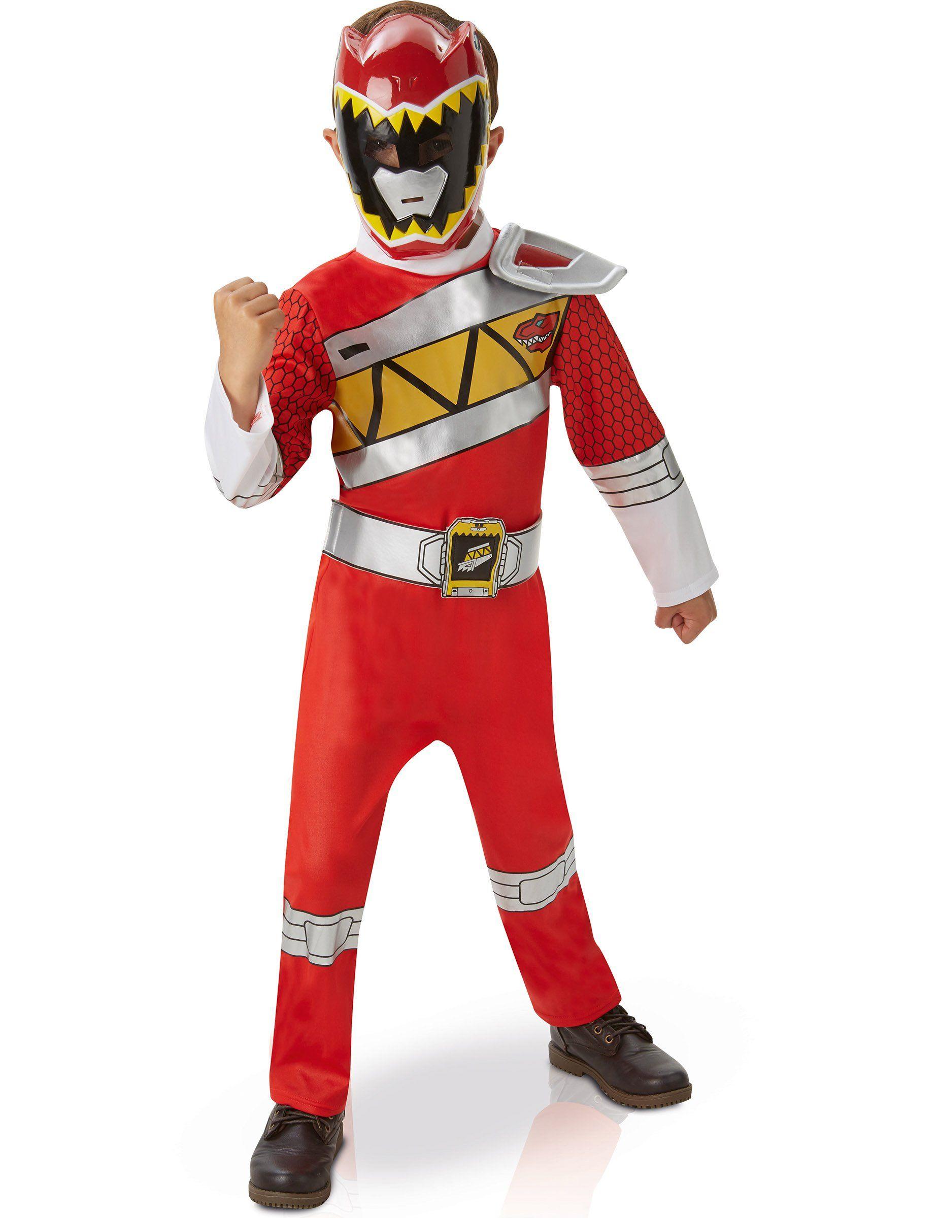 Po po power ranger pages to color - Disfraz Deluxe Power Rangers Dino Charge Rojo Ni O Este Disfraz De Power Rangers