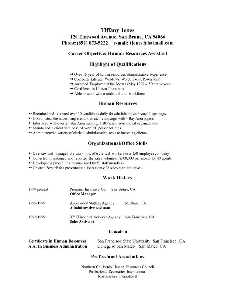 sample resume tofor example most sex and the city newspaper dress - human resources generalist resume