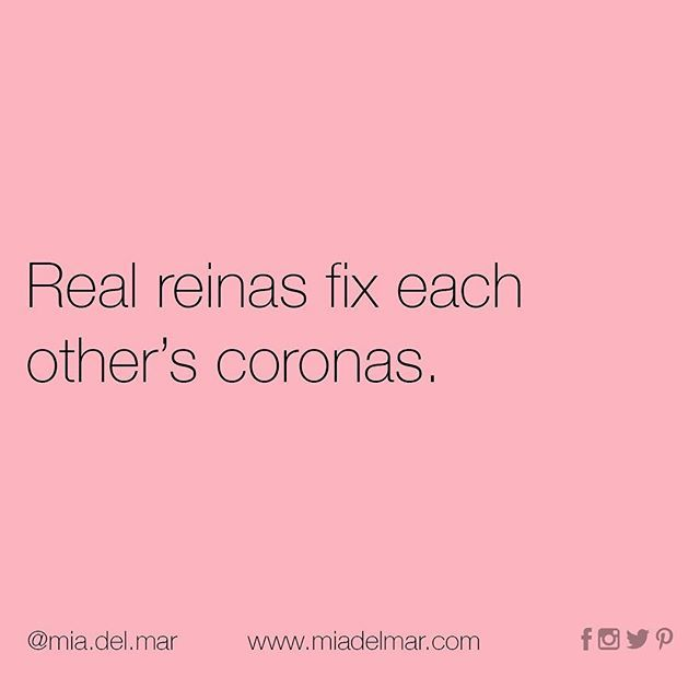 Real Reinas Spanglish Quotes Spanish Quotes With Translation Latinas Quotes