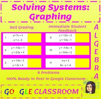 16 Solving Systems Problems On A Google Sheet The Sheet Is