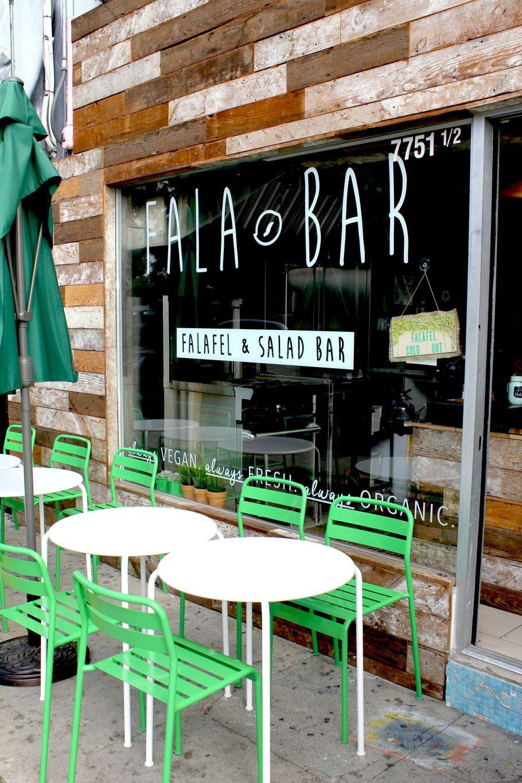 Fala Bar Melrose Avenue Los Angeles Healthy Restaurants Mind