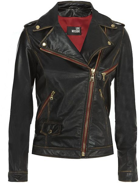 Womens Black Worn Leather Jacket Jackets And Mens