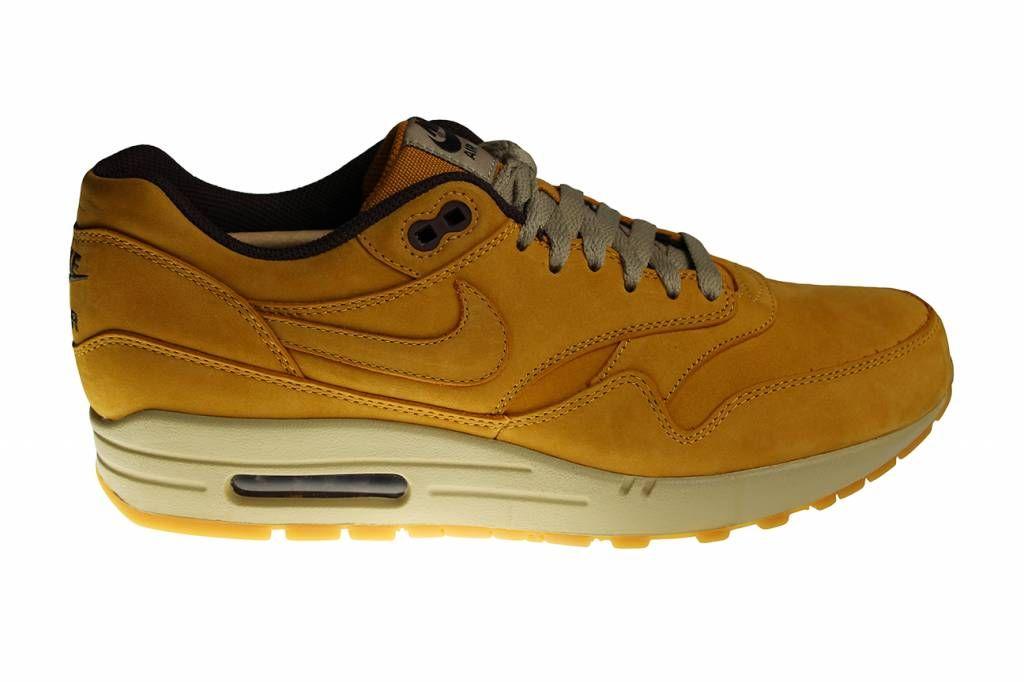 Nike Air Max 1 LTR Premium (Suède Bruin) 705282 700 Heren Chaussuress