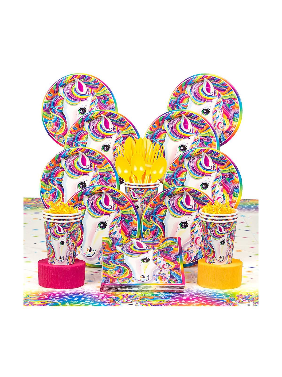 Lisa Frank Neon Pony Deluxe Kit  Decoration Kits And