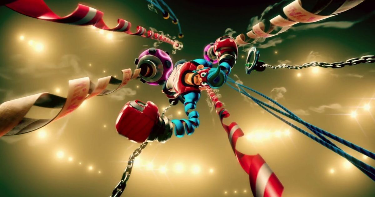 'Arms' brings shooteresque boxing to the Nintendo Switch