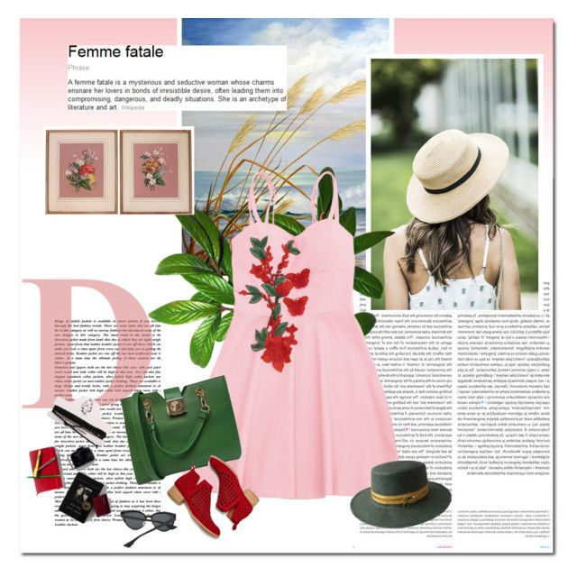"""""""Femme fatale"""" by undici ❤ liked on Polyvore featuring Oris, Versace, Jeffrey Campbell and kangol"""