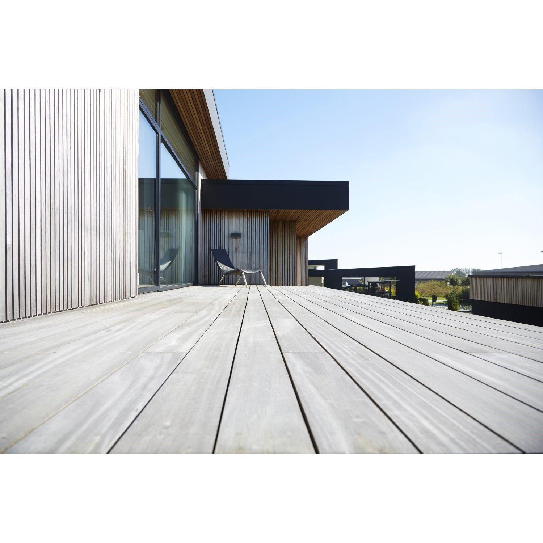 XLBYG Hårdttræ terrassebrædder Cumaru glat/glat