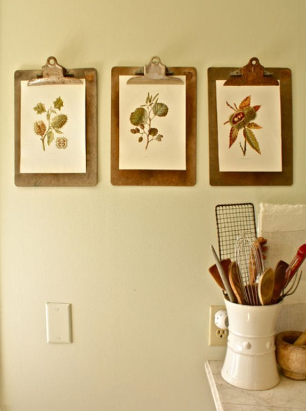 How To Hang Pictures In Your Home\'s Hallway | Clipboards, Display ...