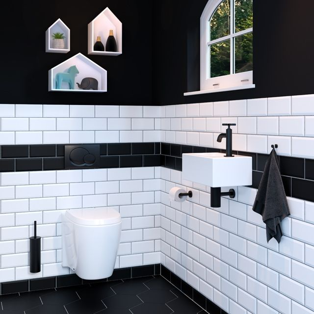 Badkamerwinkel.nl Blog - Stijlvol zwart in je badkamer ...