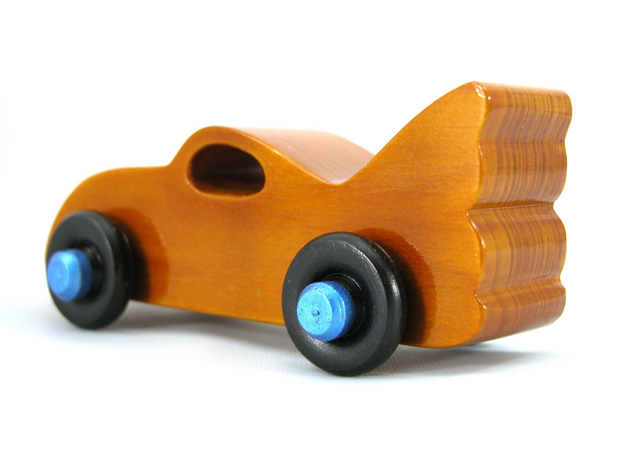 Baby girl car toys  Handmade Wooden Toy Car Bat Car from the Play Pal Series  Dřevěné